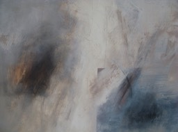 Mapping (an ending) - 60 x 120cm oil & graphite on canvas